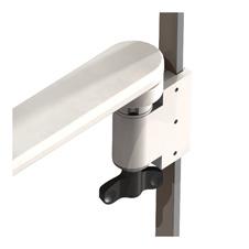 Arm-Schnittstelle an vertikale Gerätenormschiene
