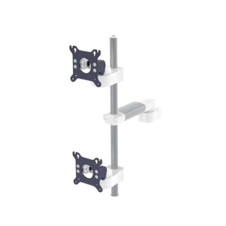 Doppelhalterungen für vertikale Flachbildschirme mit VESA 75100 Adaption