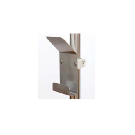 Drainagehalter, Urinbeutelhalter, Schlauchhalter mit Befestigung an Rundrohr Ø 38 mm
