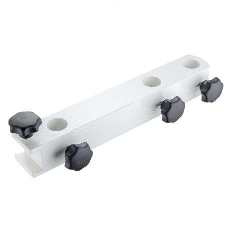 Schienen-Rohr-Halterung 3-fach